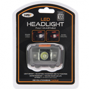 NGT CZOŁÓWKA LATARKA   LED Headlight with White