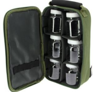 NGT ETUI NA DIPY 6 Pot Green Glug Bag